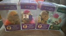 Nsync Justin Timberlake Collectible Beanie Bear Plush Stuffed Animal-set of 4