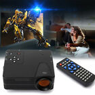 1080P Multimedia Home Theater LCD LED Projector HD PC TV AV VGA USB HDMI Cinema