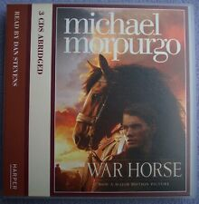 WAR HORSE Michael Morpurgo 3 x CD AUDIO Read by Dan Stevens WWI World War One