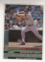 1992 Fleer Ultra Wade Boggs #311Boston Red Sox HOF Nice Oddball Miscut