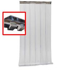 Rideau à lanières pvc 1000 * 2000 * 2 mm, porte à lamelles plastique coupe-froid
