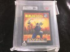 Ukg VGA Atari lynx ninja gaiden 3 ancient ship of doom new Sealed 85+