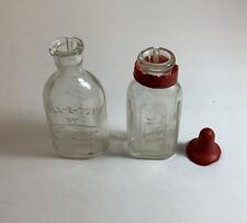 Vintage Miniature Baby Bottles(2)-Doll E Toys Amsco & Sun Babe