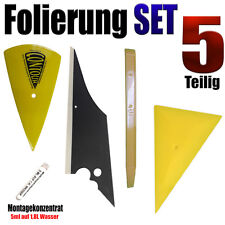 Folierung Rakel  Set für Optimale Scheiben Tönung + Montagekonzentrat