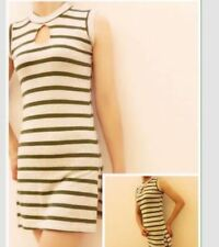 Terno short  Off White Green Stripped Fits upto XL Frame