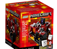 Lego Minecraft 21106 Micro World – The Nether ~NEW & Unopened~