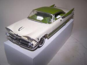 1959 Dodge Custom Royal Lance JoHan X-el 1/25 promo model HAS INTERIOR !