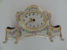 Vintage Shelf Clock - China / Porcelain - Czechoslovakia