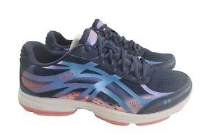 Ryka Womens Devotion Plus 3 Walking Sneaker Shoes Size 9W Navy