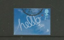 """GREAT BRITAIN 2002 GREETINGS STAMP """"HELLO"""" SELF ADHESIVE. USED SG2264a"""