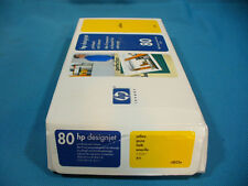 HP Genuine 80 C4823A DJ 1000 Yellow Printhead New in Factory Sealed Box NOV2013