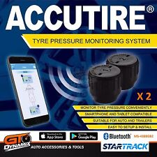 Accutire Tyre Pressure Bluetooth Monitoring System Set of 2 MS-4388GB2 CAR BIKE