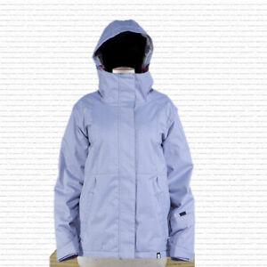 Ride Northgate Insulated Snowboard Jacket, Women's Size Medium, Chalk Violet New