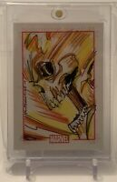 GHOST RIDER 70 YEARS MARVEL COMICS ARTIST SKETCH AUTOGRAPH ART CARD 1/1