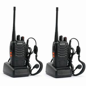 BAOFENG BF-888S RICETRASMITTENTI PROFESSIONALI WALKIE TALKIE 400-470MHz UHF 2PZ