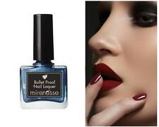 MIRENESSE Bullet Proof Nail Lacquer *Midnight in Paris Blue Polish RRP$29.95 NEW