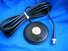 MAGNET BASE NMO MOUNT BNC MAGNETIC  UHF VHF ANTENNA BASE NMO MADE IN USA