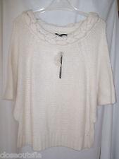 61fcc51196 Antonio Melani Size Small Sweater Winter White New Womens MSRP  179