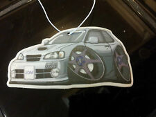 10 Customized Toyota Starlet Glanza GT Hanging Car Air Freshener JDM Turbo