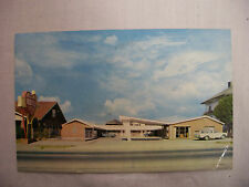 Vintage Photo Postcard Heart Of Knoxville Motel With Street Cars Tennessee 1964