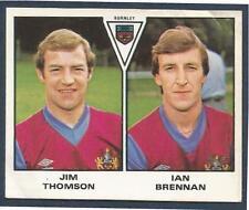 PANINI FOOTBALL 80- #400-BURNLEY-JIM THOMSON / IAN BRENNAN