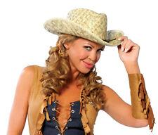 Sexy Halloween Costume Accessory Roma Straw Cowboy Hat