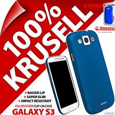 Nuevo Krusell Azul ColorCover Funda Rígida Para Samsung i9300 Galaxy S3 S III 3