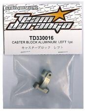 RC Team Durango TD330016 Caster Block Aluminum (L) DEX410 DEX410R v3 v4 v5 Buggy