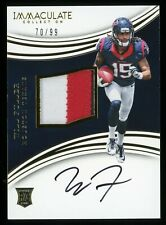 70/99 WILL FULLER 2016 Immaculate Autograph Auto Patch Rookie RPA Texans