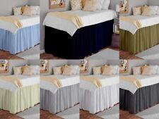 "New ListingDorm Bed Skirts Room College Dorm Twin Extra Long 36"" Deep All Color Ruffle Dorm"