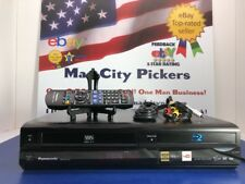 Panasonic DMP-BD70V Blu-Ray Player VCR Combo w/ Remote Blu-Ray Player Tested 💯