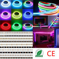 Luces LED de tira WS2812B 5050 RGB 30/60/144 LED / M IC direccionable individual