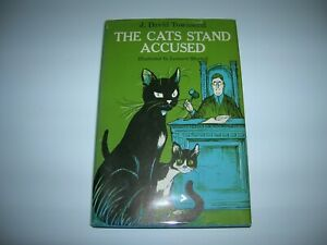 The Cats Stand Accused By David Townsend 1961 HC DJ Illus By Leonard Shortall !!