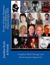 Secrets of Stage Hypnosis, Street Hypnotism, Hypnotherapy, NLP : Complete Min...