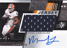 2011 SPx #57 Mikel Leshoure Auto Jersey RC #/225