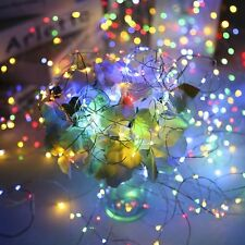 Autism Sensory LED Lights Waterproof Led Starry Copper String with Adapter Gift