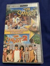 PSP UMD Movie Sony PlayStation Portable Lot The Sandlot 1  & Sampler Disk !!!!