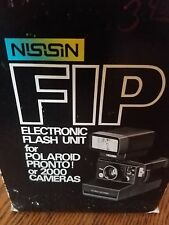 Nissin FIP Electronic Flash for Poloroid Pronto