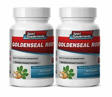 Goldenseal Root Extract - Goldenseal Root 520mg - Cleansing Organs Capsules 2B