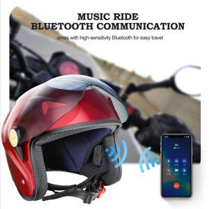 Radhelm Fahrradhelm Smart Bluetooth Drahtloser Lüfter Solarenergie Motorradhelm