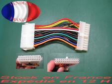 Atx adaptateur d'alimentation 20 pin femelle vers 24 pin male atx adaptator