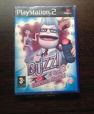 BUZZ El Gran Concurso Musical PS2 Play Station 2 Pal ESPAÑOL NUEVO A ESTRENAR