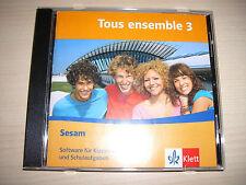 Tous ensemble 3 Sesam Software für die Klassenarbeiten mit Lösungen