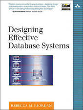 NEW Designing Effective Database Systems by Rebecca M. Riordan