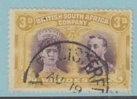 RHODESIA 135 SG 134 USED NO FAULTS EXTRA FINE!