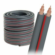 AudioQuest X2 Bulk Speaker Cable with Gray Jacket (50' Spool)