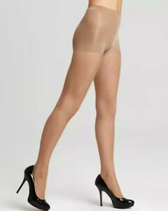 New WOLFORD Cosmetic Individual 10 Shape Control Top Tights Size XL