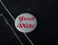 GREAT WHITE BUTTON