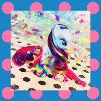❤️My Little Pony Brushable Rainbow Rocks Equestria Girl Rarity Rainbow Hair❤️