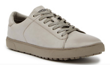 Hawke & Co. Men's Gray Leather Joe Sneakers Athletic Shoes Size 8